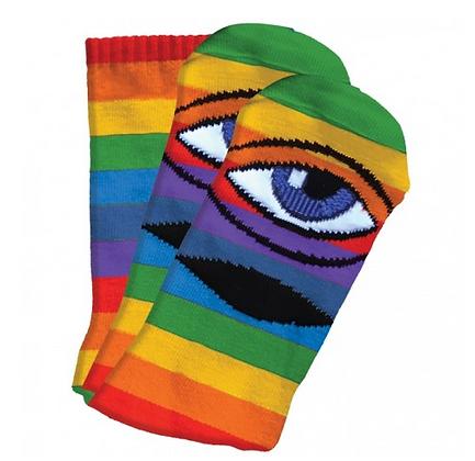 Toy Machine Rainbow socks