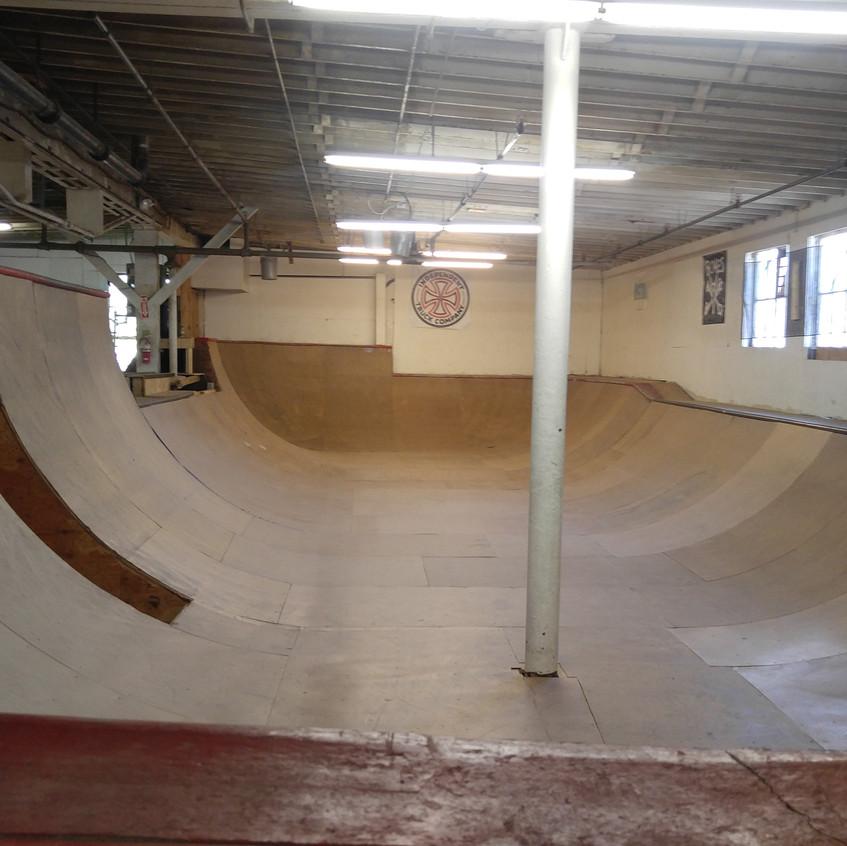 Red Alert Skateshop Pool Section