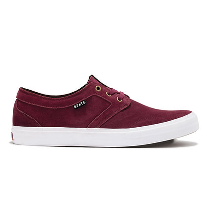 State - Bishop Black Cherry/White Shoes