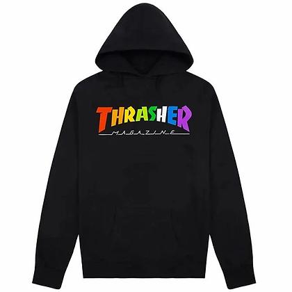 Thrasher - Rainbow Mag Hoodie