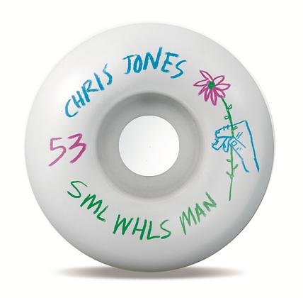 Sml. - Jones Pencil Pushers OG Wide Wheels - 53mm