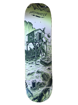 """Highwater """"Gator party"""" deck"""