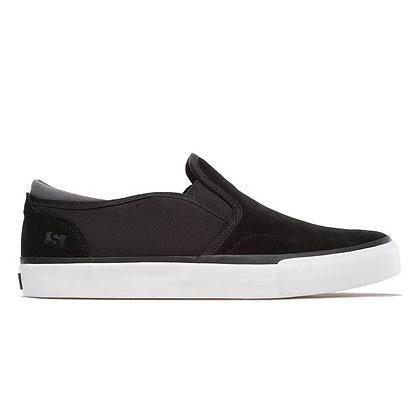 State Keys Black/Pewter Suede Shoes