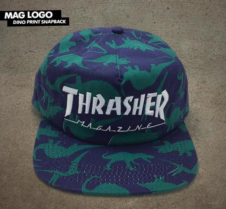 """Thrasher - Mag Logo """"Dino"""" Hat"""