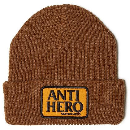 ANTIHERO - Reserve Patch Brown/Orange Beanie