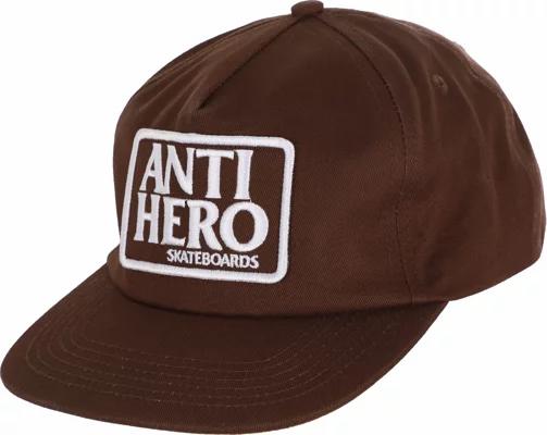 ANTIHERO - Adjustable Reserve Patch Brown/White Snap Back Hat