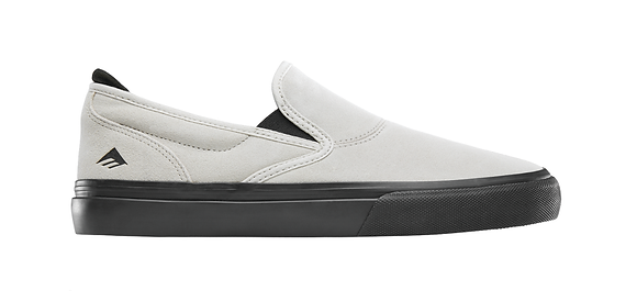 Emerica - Wino G6 Slip On White/Black Shoes