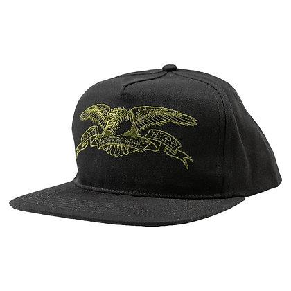 ANTIHERO - Eagle Black/Olive Snap Back Hat