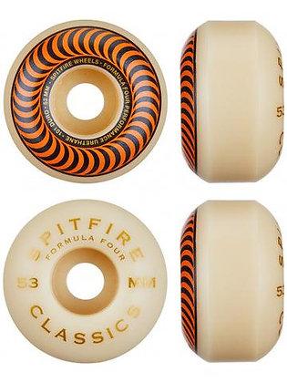Spitfire Formula 4 Classic 101a Wheels orange