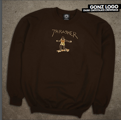 Thraher - Gonz Logo Crew Sweater
