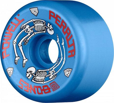 Powell Peralta G-Bones Skateboard Wheels 64mm 97a - Blue (4 pack)