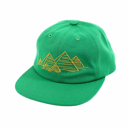Theories - Pyramid Green Strap Back Hat
