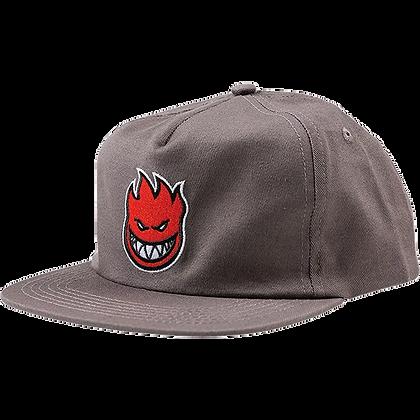 Spitfire Bighead Fill Hat (Grey/Red)