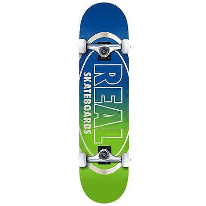 """Real Oval Outliners 7.75"""" Complete Skateboard"""