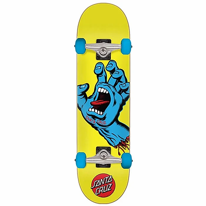 Santa Cruz Complete Skateboard Screaming Hand Mini 7.8 x 31