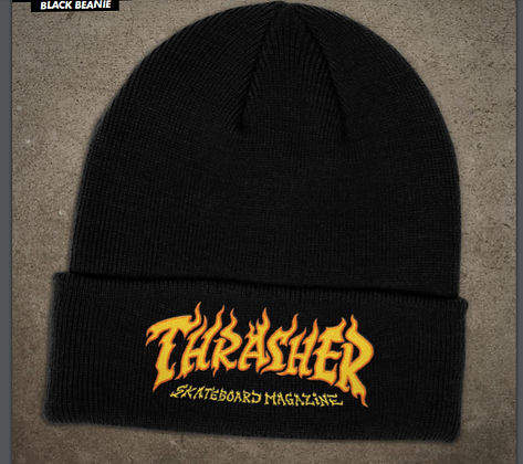 Thrasher - Fire Logo Beanie