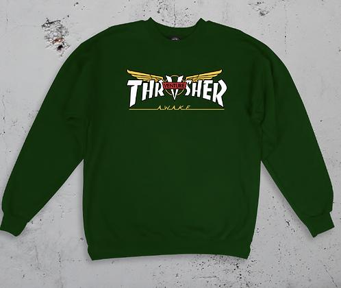 Thrasher Mag Venture Trucks Crew Neck