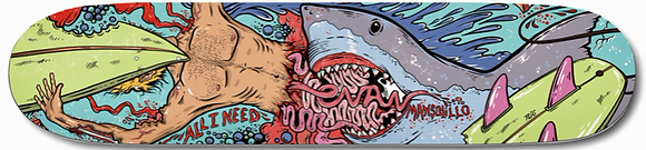 All i Need Evan Shark Guts