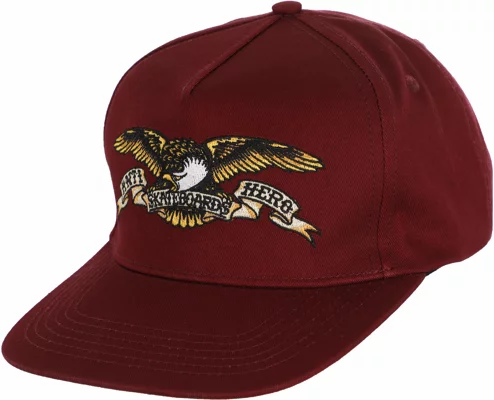 ANTIHERO - Adjustable Eagle Dark Red Snap Back Hat