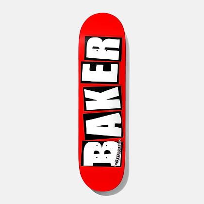 Baker - OG White Brand Logo Deck