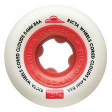 Ricta - Cored Cloud Red 86a Wheels - 54mm