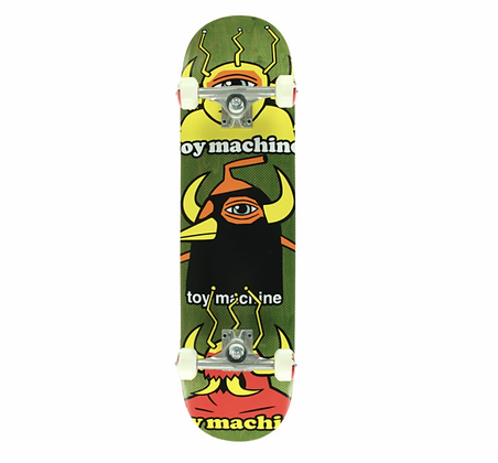 """Toy Machine 8.0"""" Chopped Up Street Complete Skateboard"""