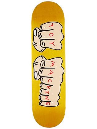 "Toy Machine Fists (Yellow) 8.38"" Skateboard Deck"