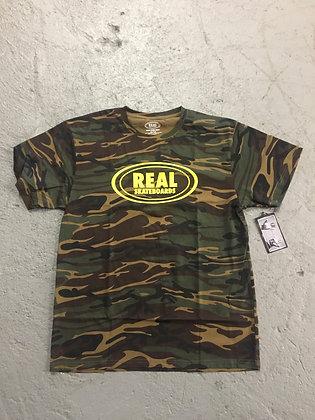 REAL - Oval Camo T-Shirt