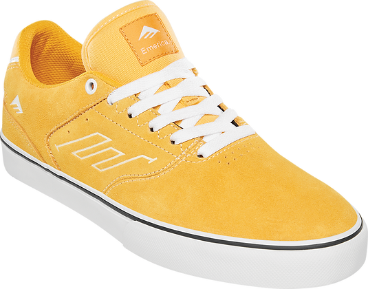 Emerica - The Low Vulc Yellow/White Shoes