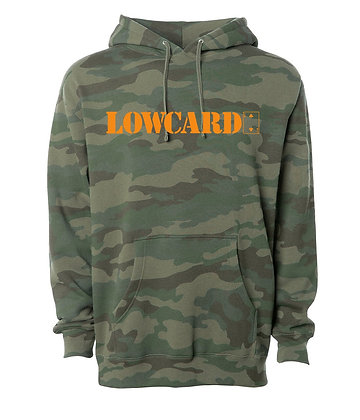 Low Card - Standard Camo Pullover Hoodie