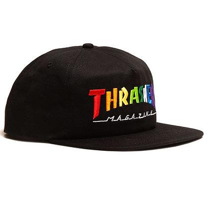 Thrasher - Rainbow Mag Snap Back Hat