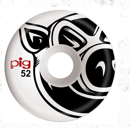 Pig - Head Conical Naturals