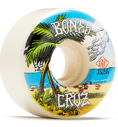 Bones Cruz Buena Vida 103A Locks STF Skateboard Wheels - 52mm