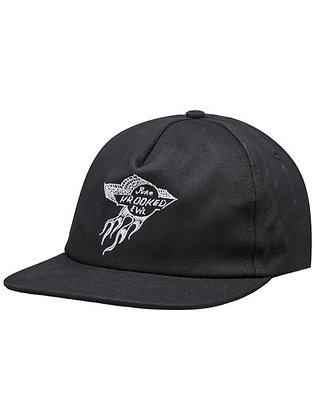 Krooked - Pure Evil Black Snap Back Hat