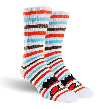 Toy Machine - Monster Face Mini Stripe Socks