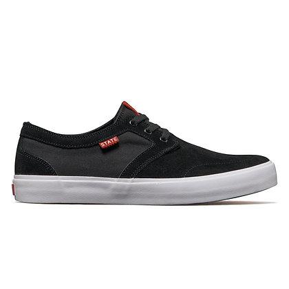 State - Bishop Black/White Shoes