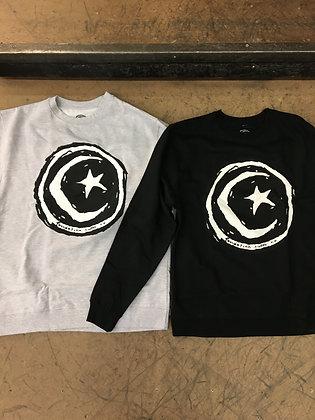 Foundation Star and Moon Crewneck