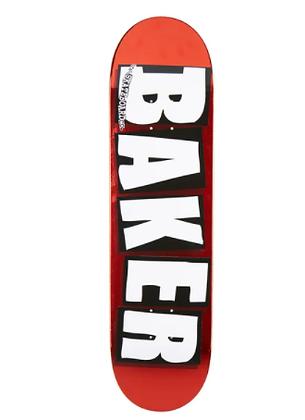 Baker Brand Logo Red Foil Deck