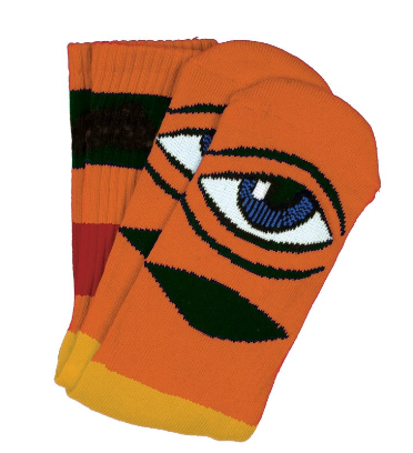 Toy Machine sect eye 2 stripe socks