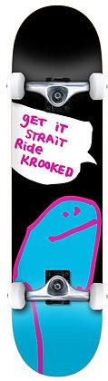 """Krooked Og Shmoo MD Skateboard Prebuilt Complete - 8.0"""""""