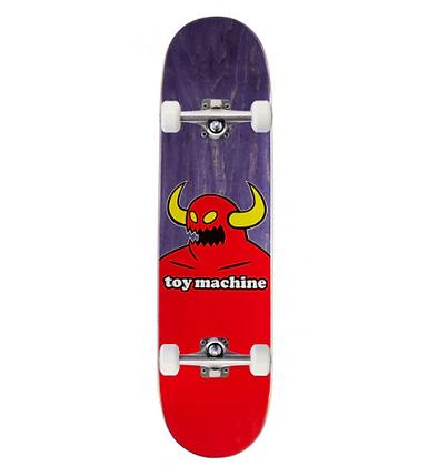 "Toy Machine Monster Skateboard Complete - Purple - 8.00"""