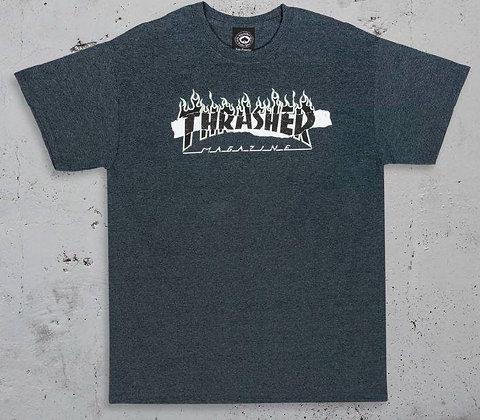 Thrasher - Ripped T-Shirt
