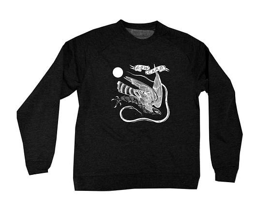 Low Card - Hawk Card Crew Neck