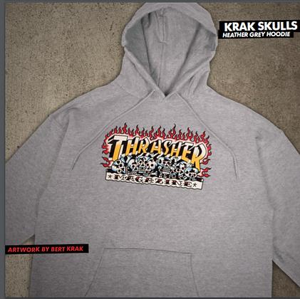 Thrasher - Krak Skulls Pull Over Hoodie