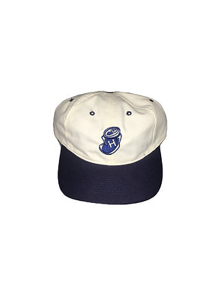"""Highwater """"crushed can"""" snap back (Navy)"""