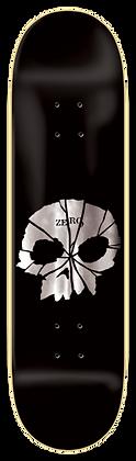 Shattered Single Skull (Silver Foil) - 8.25