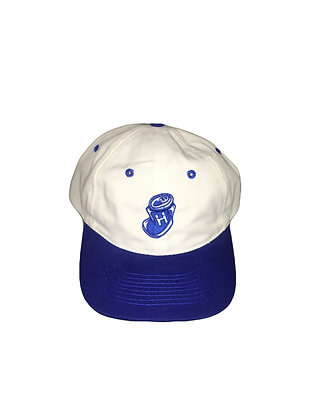 """Highwater """"crushed can"""" navy snap back"""