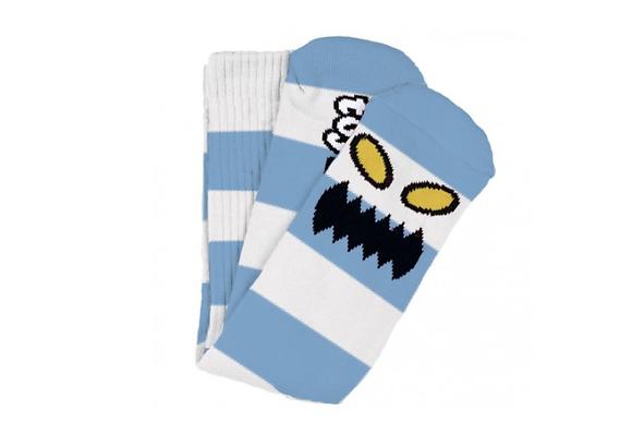 Toy Machine Monster Big Stripe Socks