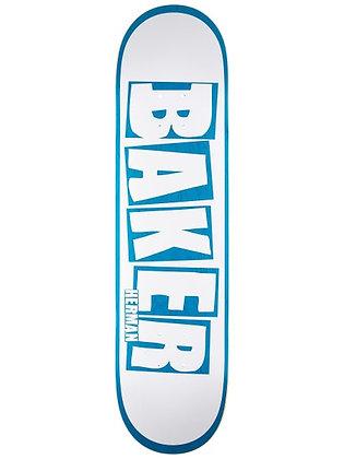 Baker Herman Brand Name White/Blue Deck