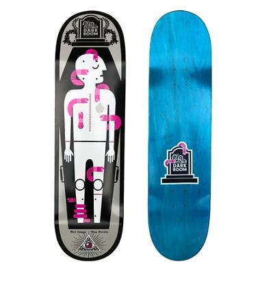 "Darkroom Last Rites Skateboard Deck (8.875"")"